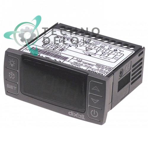 Контроллер Dixell XR70CX-5N0C3 71x29мм 230VAC датчик NTC/PTC 4 выхода реле для холодильного оборудования и др.