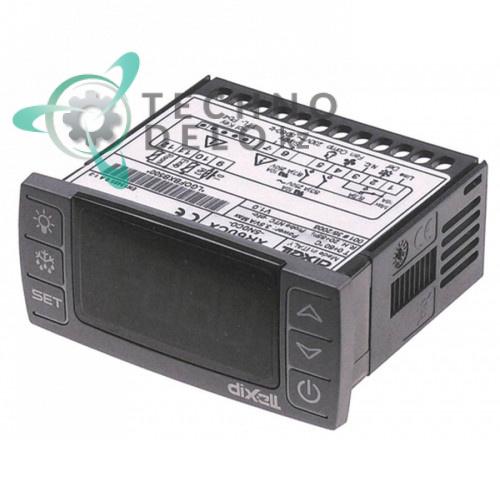 Контроллер Dixell XR60CX-5N0C0 71x29мм 230VAC датчик NTC/PTC 3 выхода реле защита IP54 диапазон -50 до +150 °C