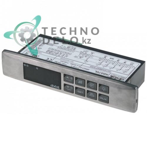 Контроллер Dixell XB570L-5R0C1-X 150x30x65,5мм 230VAC датчик NTC 6 выхода реле -50 до +99°C 103060 для Adande и др.
