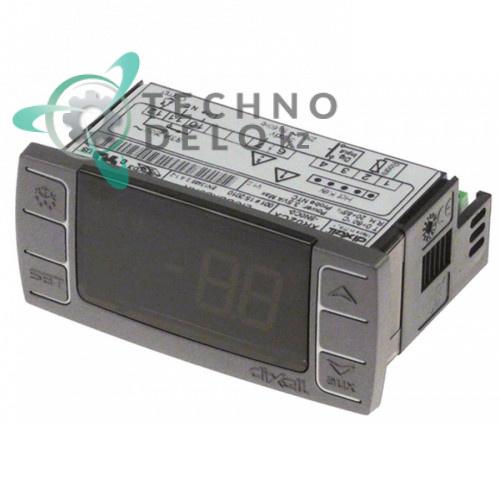 Контроллер Dixell XR02CX-5N0C0 71x29x56мм 230VAC датчик NTC 1 выход AK15038 для Amatis, Forcar, Horeca-Select, Öztiryakiler и др.