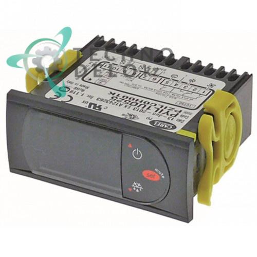 Контроллер CAREL PYIL1U05B9 71x29x74мм 230VAC датчик NTC 3 выхода реле 34986 для холодильного оборудования Ilsa