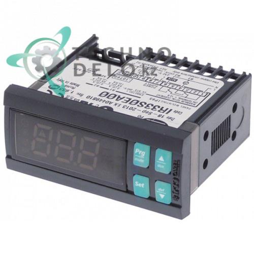 Контроллер CAREL IR33S0EA00 71x29x70,5мм 230VAC датчик NTC -50 до +150 °C для холодильного оборудования и др.