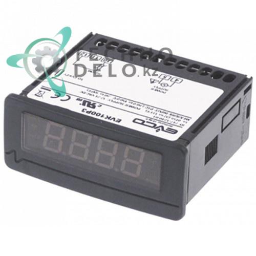 Термометр электронный EVCO EVK100P3 71x29мм 12/24 VAC/VDC IP64 -50 до +150°C 0500400 для Lamber и др.