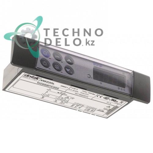 Контроллер Dixell XW220L-5N0C1 150x30x65,5мм 230VAC датчик NTC -50 до +150 °C для холодильной камеры и др.