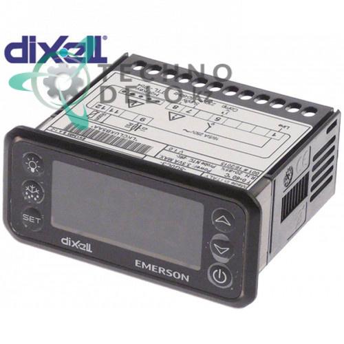 Контроллер DIXELL EMERSON XR20CH-5G0C3 71x29x61мм 230VAC датчик NTC/PTC 41103064 для оборудования Mercatus и др.