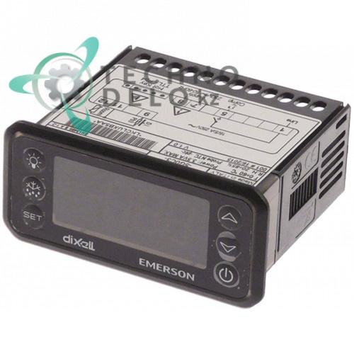 Контроллер Dixell XR60CH-5N0C1 71x29x61мм 230VAC датчик NTC/PTC 3 выхода реле -50 до +150°C холодильной камеры и др.