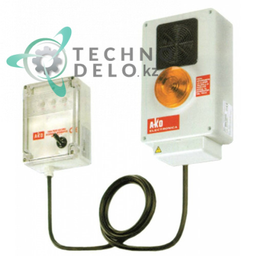 Сигнализатор AKO 5205A 230VAC диапазон +5 до +40/-50 до +40°C 90дБ