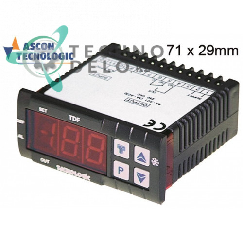 Электронный модуль TECNOLOGIC 034.379266 universal service parts