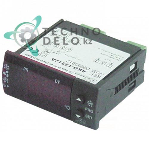 Контроллер AKO 14212A 71x29мм 12В NTC IP65 для холодильной камеры