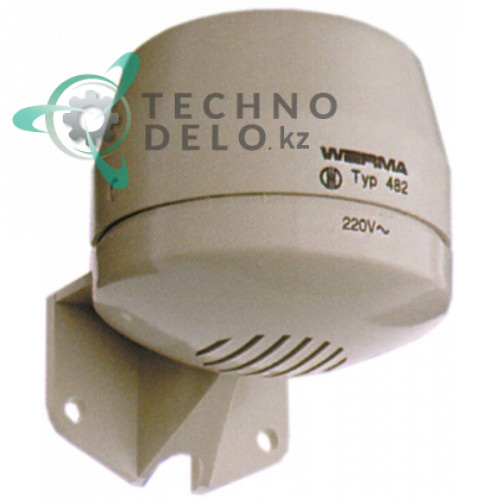 Сигнализатор Werma 230VAC ø70мм H80мм 92дБ защита IP33