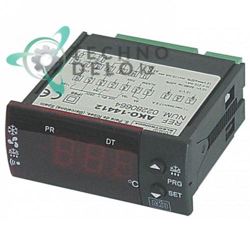 Контроллер AKO 14412 71x29мм 12VAC/VDC датчик NTC IP65