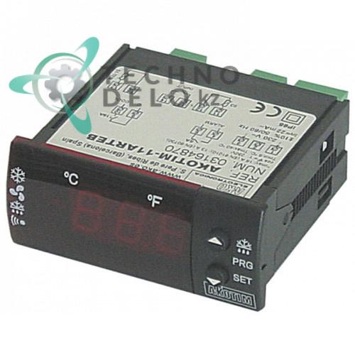 Контроллер AKO AKOTIM-11ARTEB 71x29мм 230VAC датчик NTC IP65