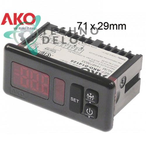 Контроллер AKO D14125 71x29 230VAC SA06030 для Roller Grill RD60F/SB40FB/VF550/EP800 и др.