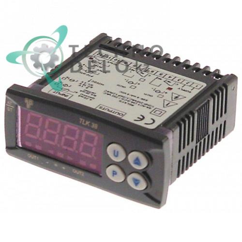 Электронный контроллер TECNOLOGIC TLK38FCR 12V AC/DC Pt100/TC (J,K) / Coven EMRESC04