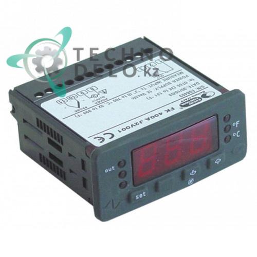 Контроллер EVCO FK400A 71x29мм 12VAC 0-500°C датчик TC/J IP65 5310060 A88TD66001 для Pizza Group FG 2 50R и др.