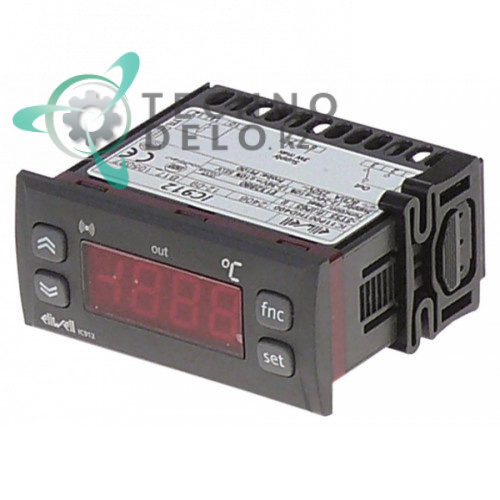 Контроллер Eliwell IC912 IC11P00THD400 71x29/74x32мм 12/24VAC датчик Pt100 для теплового оборудования Electrolux
