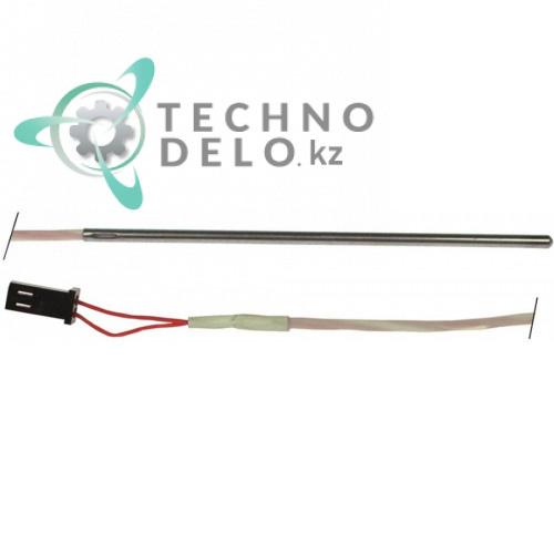 Датчик температурный Pt100 ø3x100мм кабель силикон L-1м 11950677000 для Tecnoeka