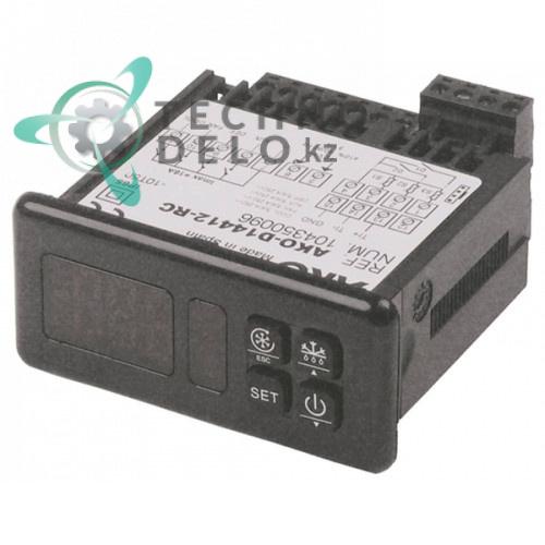 Контроллер AKO D14412-RC RS485 71x29мм 12В датчика NTC/PTC/DI IP65