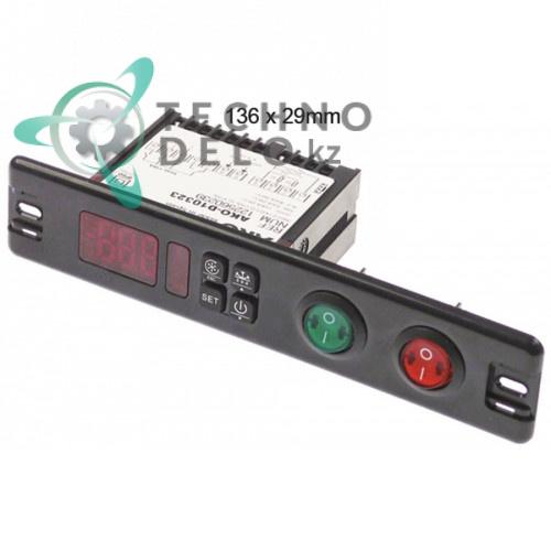 Контроллер AKO D10323 136x29мм 230VAC NTC/PTC/DI IP50 две кнопки