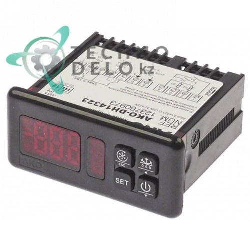 Контроллер AKO AKO-DH14323 -50 до +99/+150 °C 71x29мм 230В датчик NTC/PTC