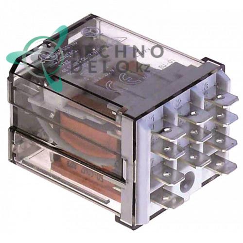 Реле Finder 24VAC 16A 3CO штепсельный разъём для профессионального оборудования Colged и др.