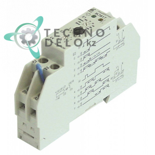 Реле времени Dold IK817N.81/200 0,2с-300ч 12-240VAC/VDC 1CO посудомоечной машины Hobart ECOMAX700/HE и др.