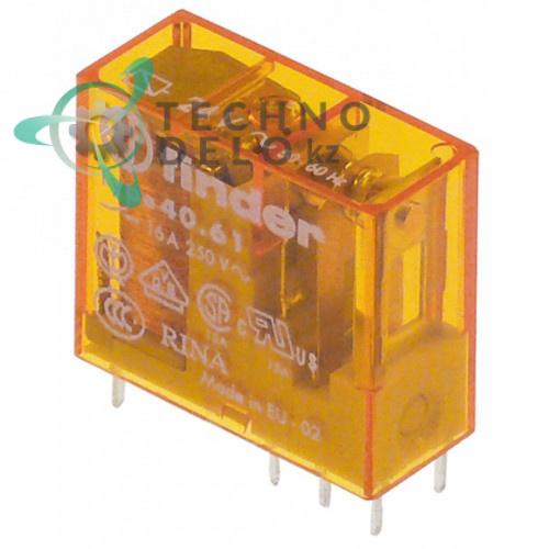 Реле Finder 40.61.8.024 24VAC 1CO 16А 0E5172 120476 для Comenda, Electrolux, Zanussi и др.