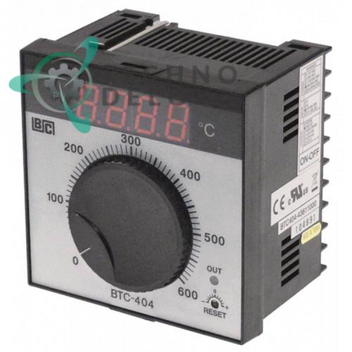 Контроллер Brainchild BTC404 43611000 0 до +600°C 90-264VAC датчик Pt100 IP54