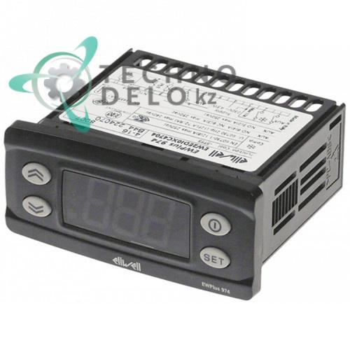 Контроллер Eliwell EWPlus 974 71x29мм 230VAC датчик NTC 4 реле 418200073000 418200073100 для оборудования ISA