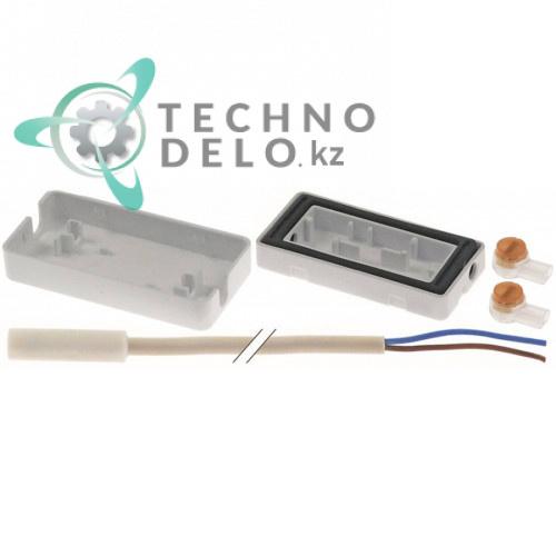 Датчик в комплекте NTC ø8x29мм кабель PVC L-3.1м -40 до +110°C M15x1,75 (арт.9590 206-00) для Liebherr