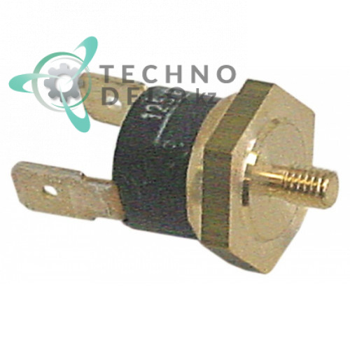 Термостат биметаллический 125 °C 1NC M4 236056 6525 для Brasilia, Colged, Elettrobar, MBM Italien