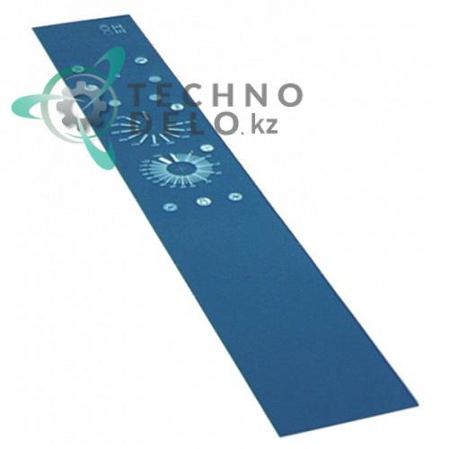 Стикер 293200220 обозначения кнопок панели управления для профессионального теплового оборудования Gico
