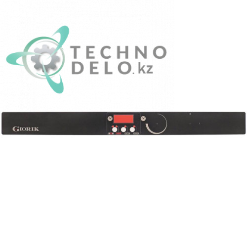 Стикер 715x67мм обозначения кнопок панели управления гриля саламандрового Giorik SH510, SH510P, SH510R и др.