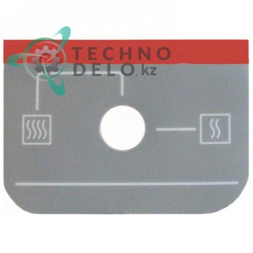 Стикер с обозначениями для панели управления 12020664 R693000 R693000000 пароконвектомата Fagor HMI1011