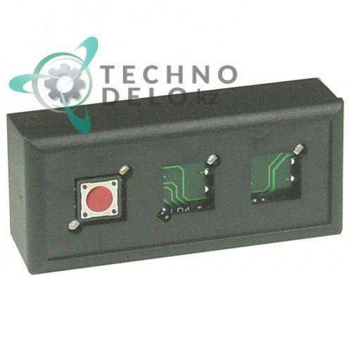 Панель управления кнопочная GICAR 9.9.08.09G 88x25x39мм конвекционной электрической печи Inoxtrend WBE-4E