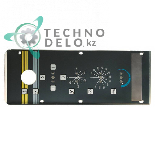 Стикер обозначения кнопок 37M4201 панели управления печи конвекционной Angelo Po FC101/FC101E/FC241 и др.