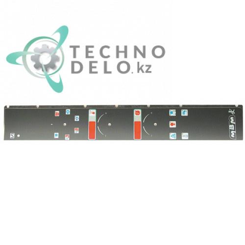 Стикер RTFOC00505 обозначения кнопок панели управления печи MBM FEM107/FEM107SC/FEM207SC и др.