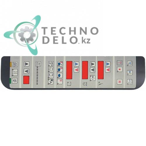 Стикер пленочный 0K2618 с обозначениями элементов управления для профессиональной печи Electrolux, Juno