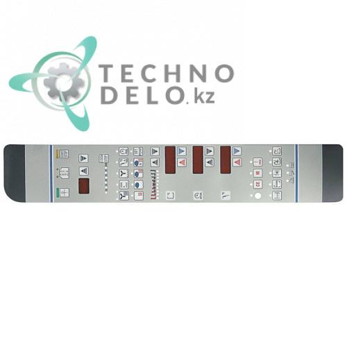 Стикер 005418 0H6442 0K1597 005449 обозначения кнопок панели управления для пароконвектомата Electrolux, Juno, Zanussi