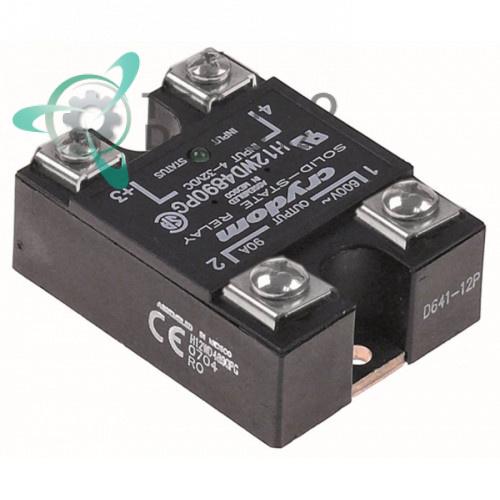 Реле полупроводниковое Crydom H12WD4890PG  90A 600V 4-32VDC 58,6x45мм 752665 ELE324032 для Eloma, Palux и др.