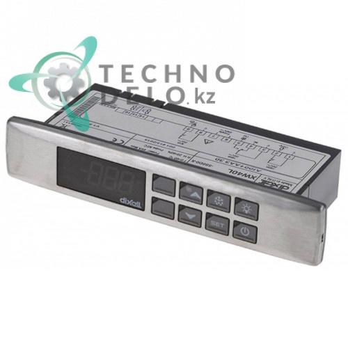 Контроллер Dixell XW40L 150x31x65,5мм 230VAC датчик NTC 3 выхода реле -50 до +150°C 308X27 для оборудования Infrico