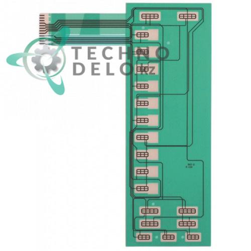 Панель управления (гибкая) 242x86мм QSWKA041DRZZ печи Sharp
