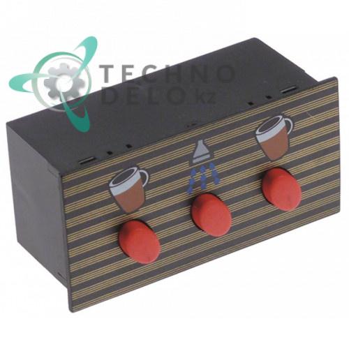 Панель управления 96x48мм 3 кнопки 18371022 для кофемашины Astoria