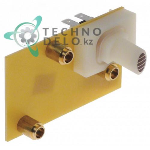 Выключатель кнопочный L42A8 250В 2NO пластина 110x55мм 10111035 10111036 для кофемашины Rancilio EPOCA CD