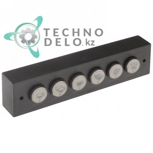 Панель управления Gicar 6 кнопок 9.9.08.90G кофемашины La Marzocco FB70/FB80/GB5/LINEA