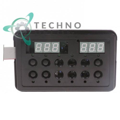 Блок управления (плата DW50570) 6 кнопок 158x103мм для Dihr, Kromo, Olis и др.