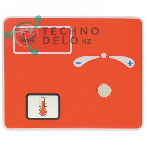 Стикер обозначения кнопок панели управления 109x89мм 6009102 для профессиональной печи Convotherm