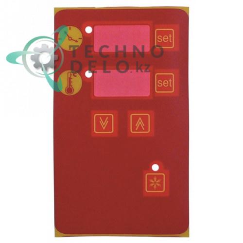 Стикер панели управления 167/99мм CFRPC10X Coven, Solymac