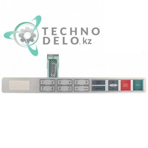 Панель управления (гибкая) 386x42мм GMW1030 микроволновой печи Galanz, Horeca-Select и др.