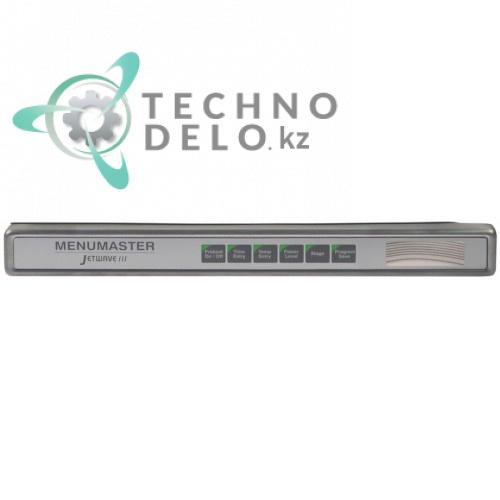 Панель управления 480x50мм 59002100 печи ACP Menumaster Jetwave III